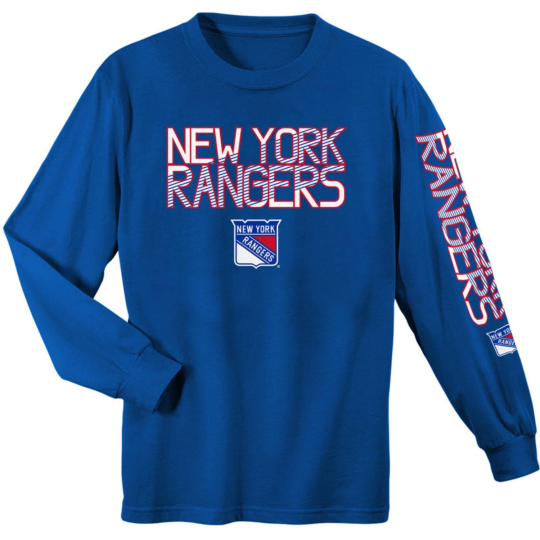 NHL New York Rangers Youth Long Sleeve Tee