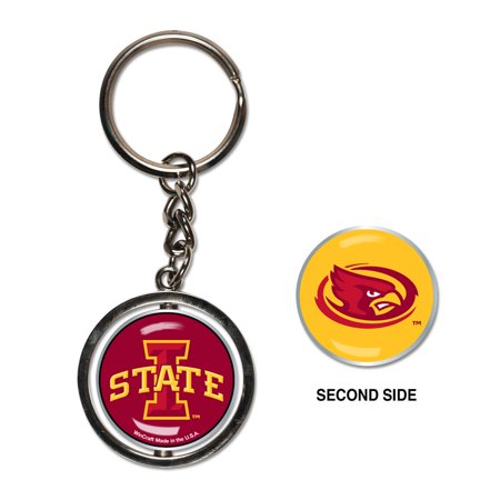 NCAA - Iowa State University Spinner Keychain (WC) - Walmart.com 266ad002e