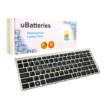 - UBatteries Laptop Keyboard Sony VAIO VGN-FW - Black/silver frame