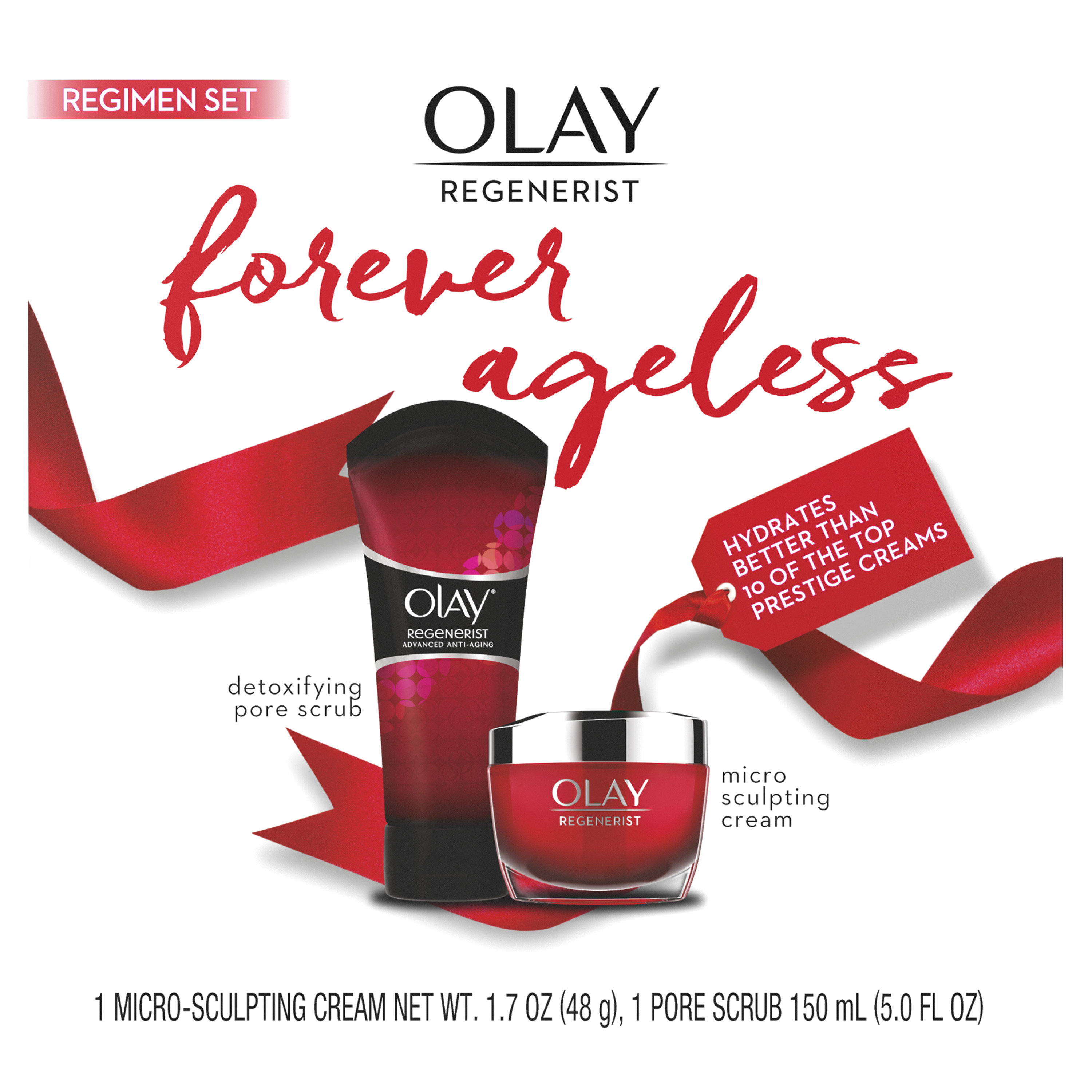 Olay Regenerist Forever Ageless Anti-Aging 2-Step Regimen Set