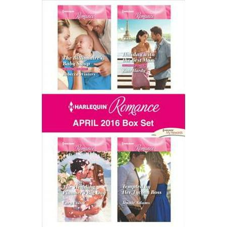 Harlequin Romance April 2016 Box Set - eBook