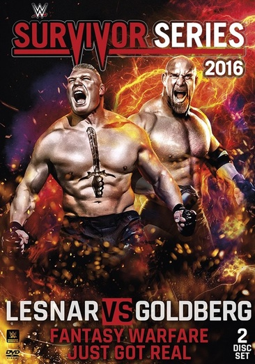 WWE: Survivor Series 2016 (DVD) by WARNER HOME VIDEO