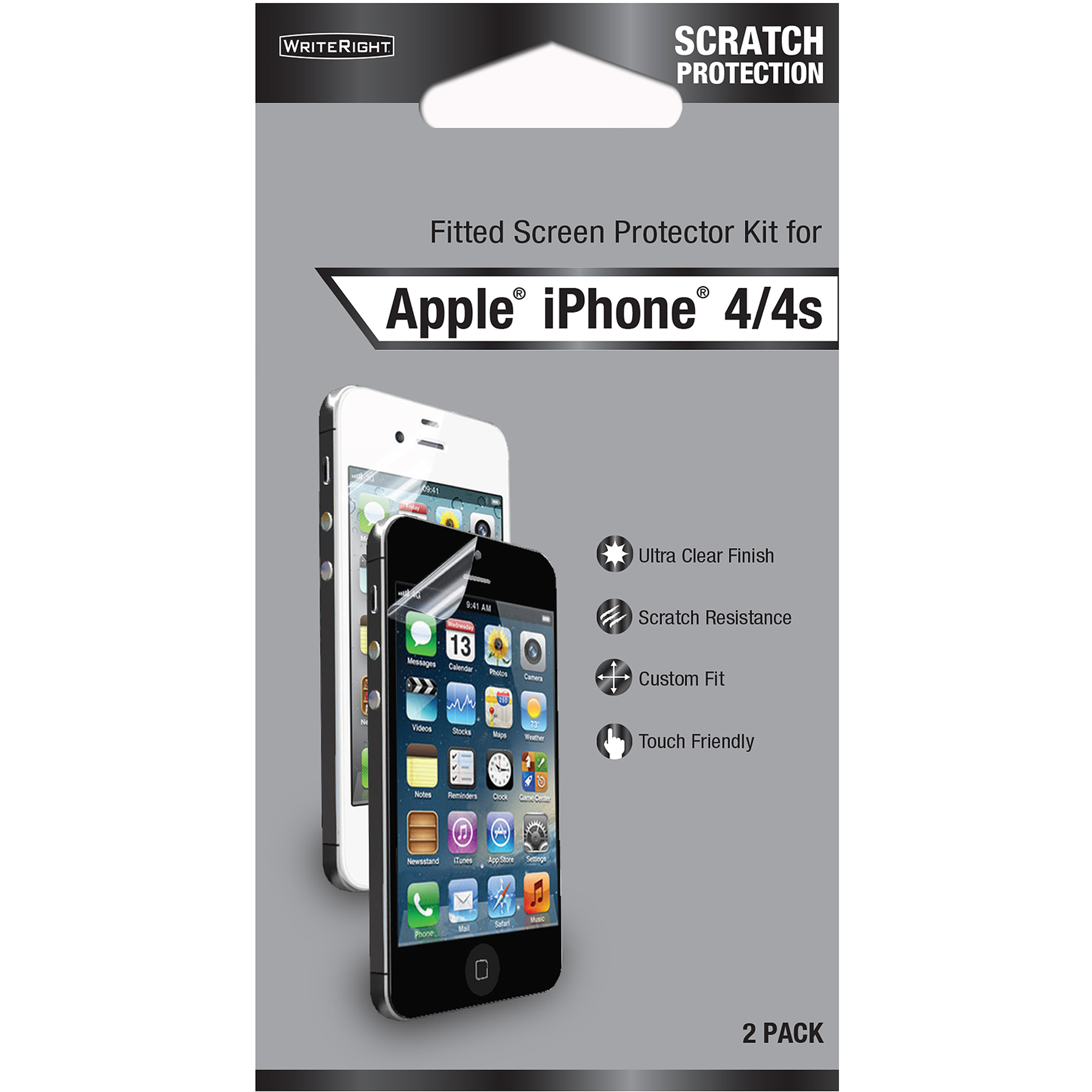 Fellowes WriteRight Screen Protector for Apple iPhone 4/4S