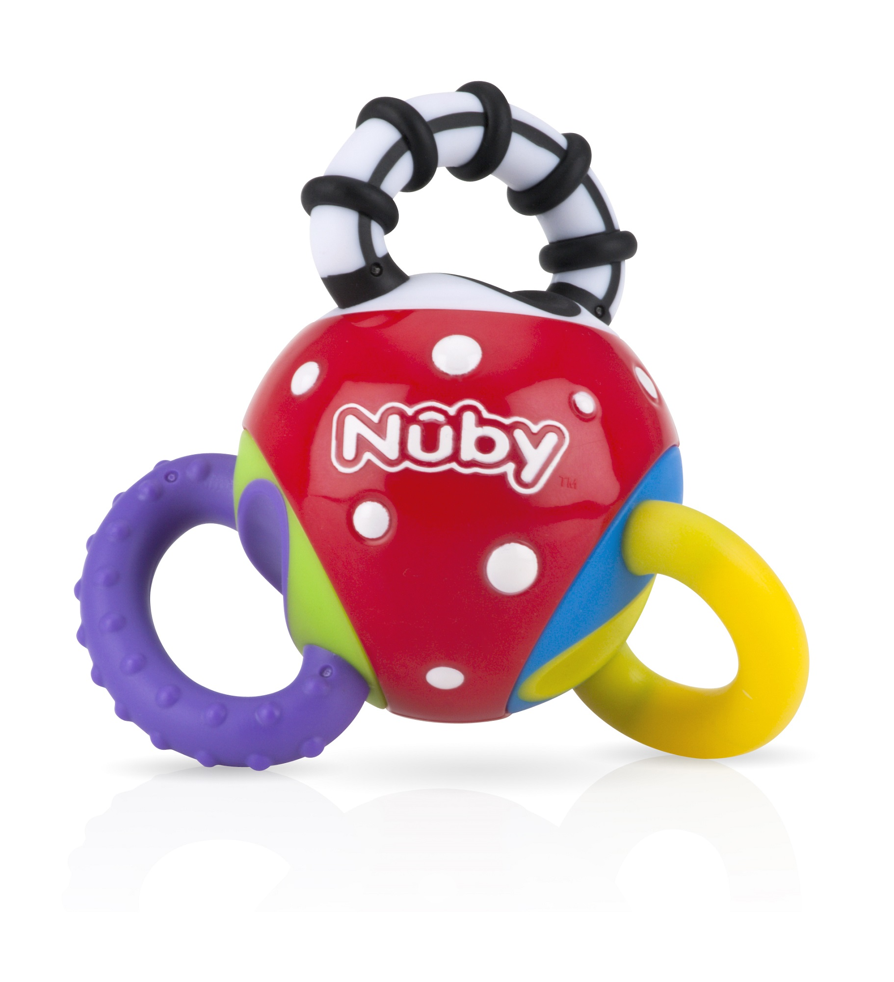 Nuby Twista Ball Teether and Toy