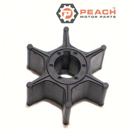 Peach Motor Parts PM-17461-92D02  PM-17461-92D02 Impeller, Water Pump (Neoprene); Replaces Suzuki®: 17461-92D02, 17461-92D01, 17461-92D00, Sierra®: 18-3000, CEF®: 500319