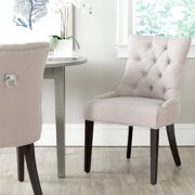 Safavieh Harlow Ring Chair with Silver Nail Heads, Set of 2