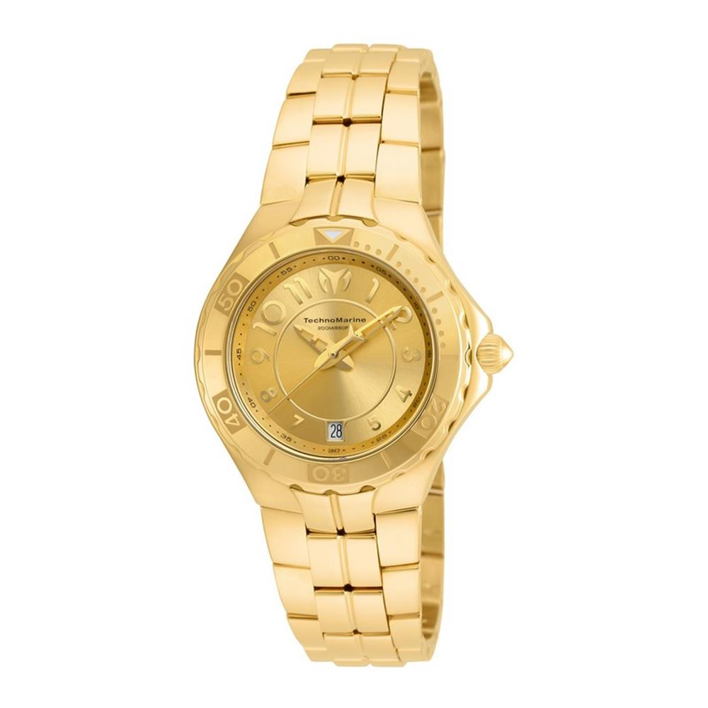 Technomarine Women's Sea 38mm Gold-Tone Steel Bracelet & ...