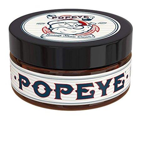 Shave Cream for Men by Popeye Shaving Co - 8 oz Sandalwood - Smooth Shave Cream Fights Irritation and Razor Burn (Razor Soap)