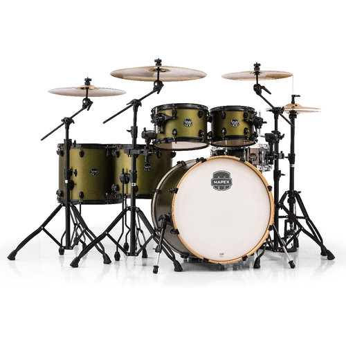 Mapex Armory Series Studioease Fast 6-Piece Drum Shell Pack Mantis Green by Mapex