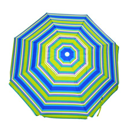 Beach Umbrella Carry Bag (6.5 ft Beach Umbrella with Carry Bag Tilt UPF 100 Accessory Hanging Hook and Sand Anchor Option )