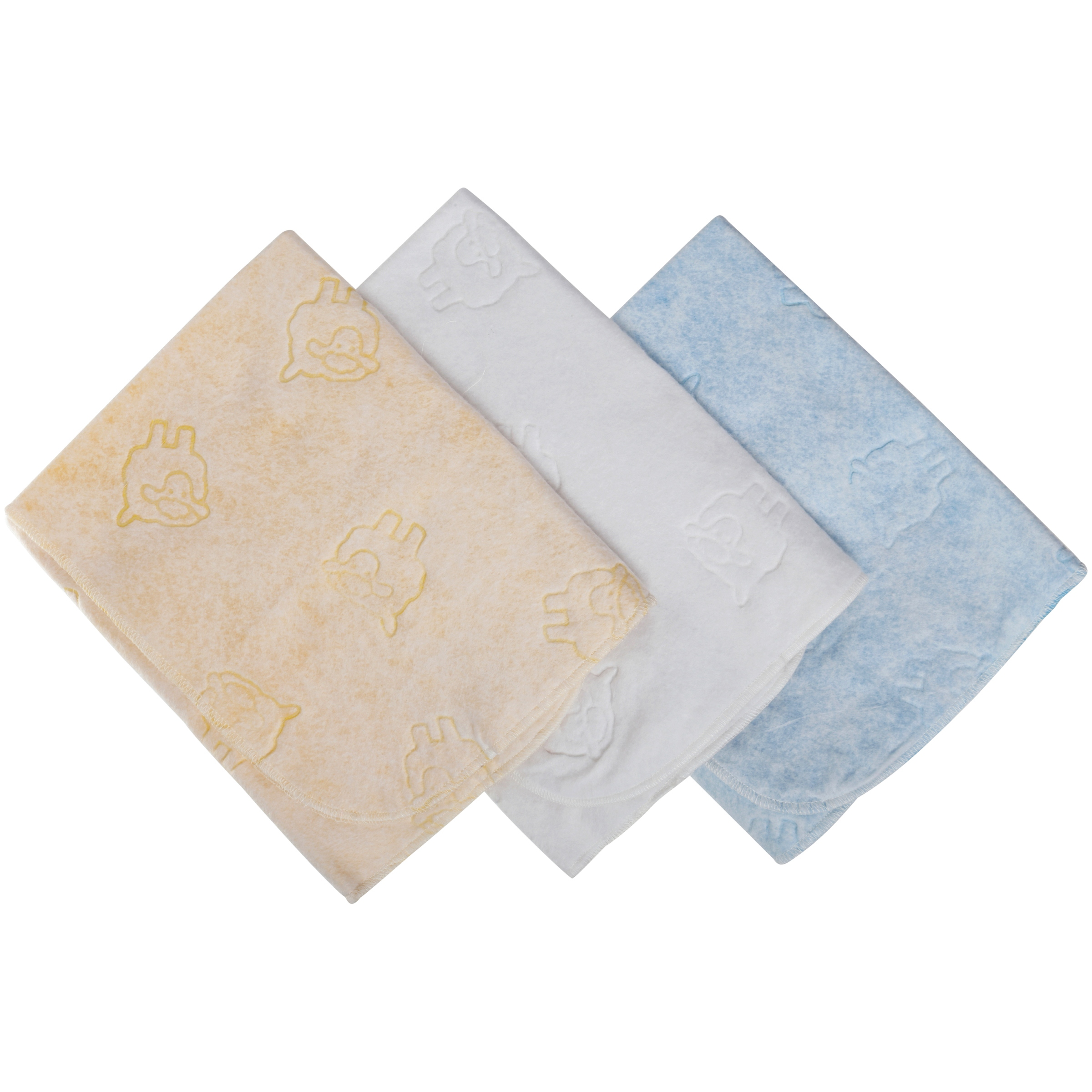 Royal Heritage Multi-Use Fleece Blue Baby Pads 3 ct Pack