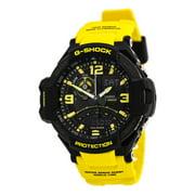Men's G-Shock GA1000-9B Yellow Resin Quartz Watch
