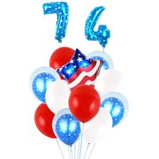 Cotonie Independence Day Happy Party Holiday Atmosphere Decoration Balloons