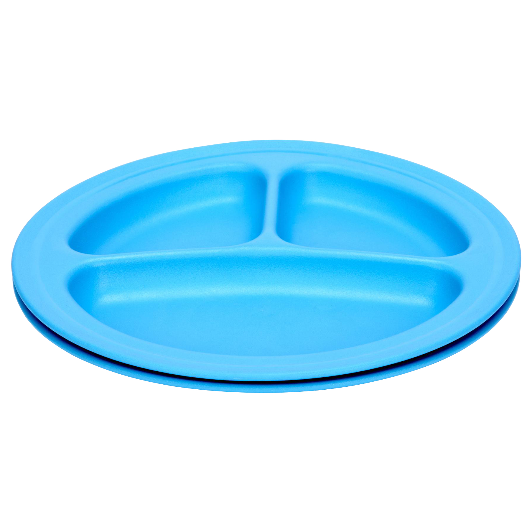 Green Eats Divided Plates - 2 Pack - Blue