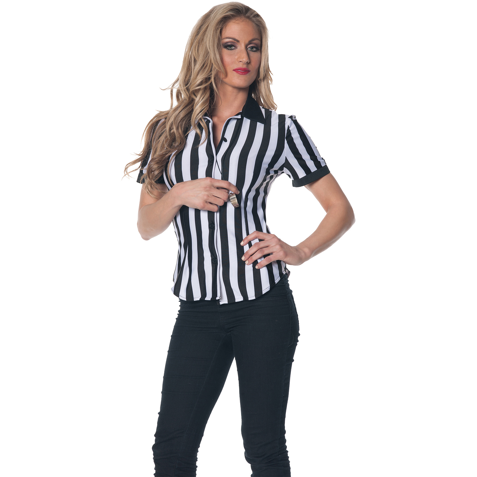 Referee Shirt Adult Halloween Costume