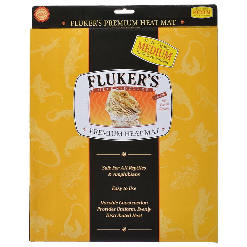 "Fluker's Heat Mat for Reptiles, 11""X11"""