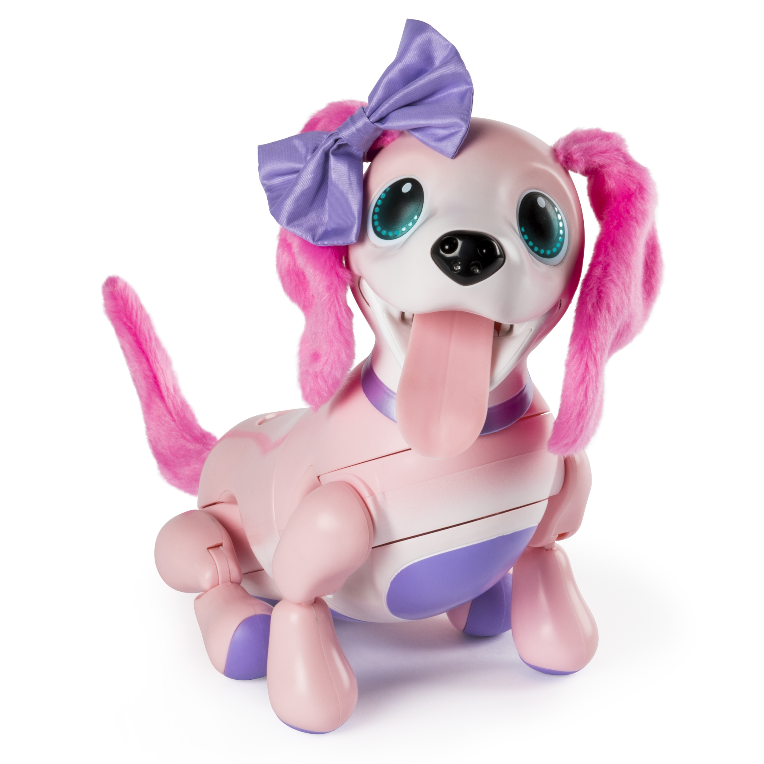 Zoomer Playful Pup, Interactive Robotic Dog with Realistic Movement and Sounds, for Ages 5 and Up, Walmart Exclusive