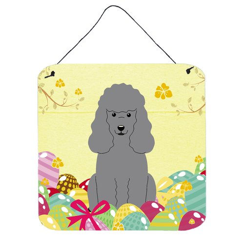 The Holiday Aisle Easter Eggs Poodle Wall D cor