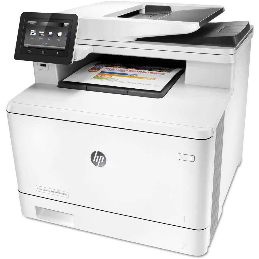 HP Color LaserJet M477fnw Wireless Multifunction Printer/Copier/Scanner/Fax Machine