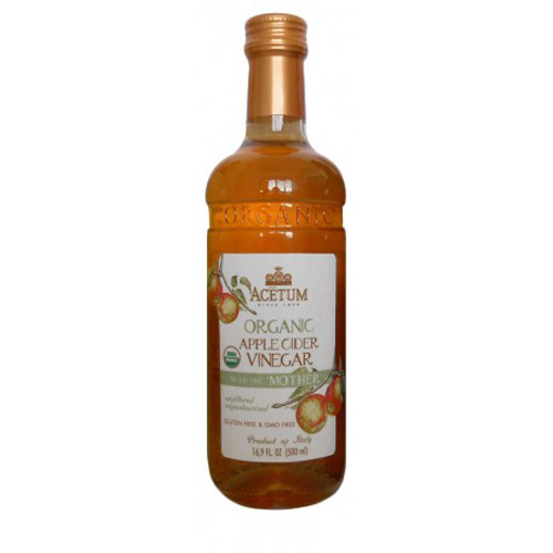 Acetum Organic Apple Cider Vinegar with the 'Mother' 16.9 oz by Acetum