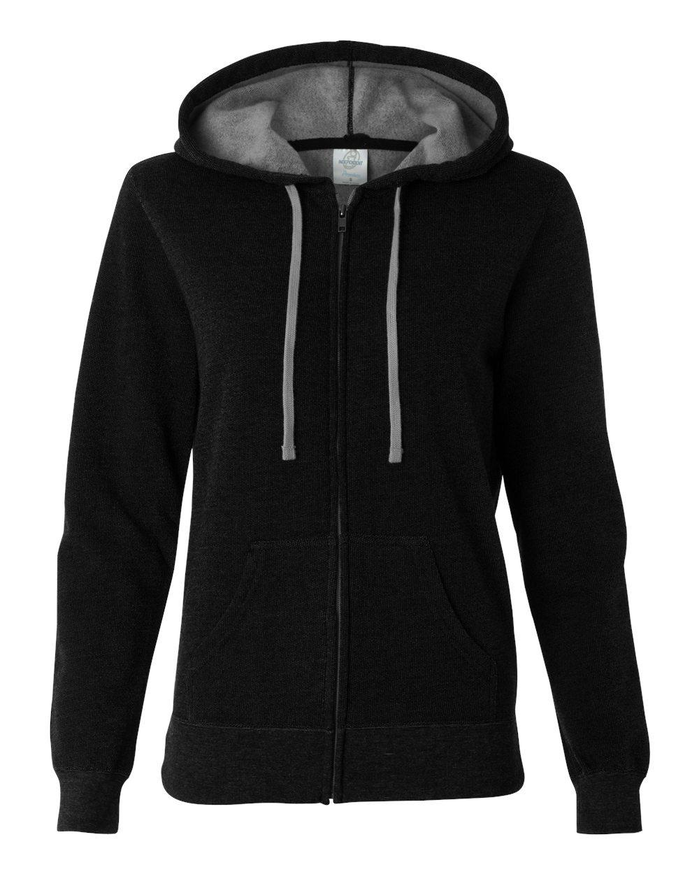 Independent Trading Co. - Juniors' Two-Color Deluxe Fleece - PRM650DZ