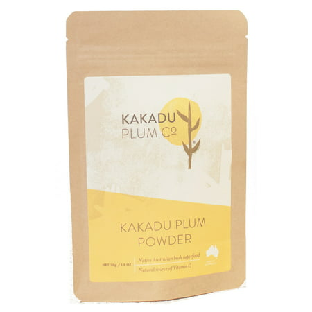 Kakadu Plum Powder - Australian Superfood - #1 Global Source of Vitamin C - Antioxidants - 1.8 oz
