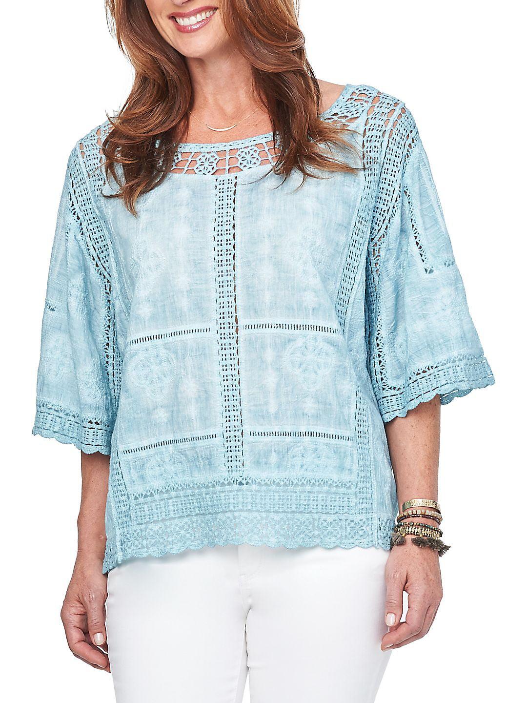 Crochet Cotton Top