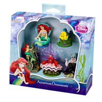 product image penn plax little mermaid 5 piece mini resin ornaments for aquariums