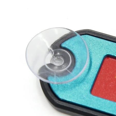 Carte No téléphone-stationnement temporaire Voiture Plaque d'aspiration Bleu - image 1 de 2