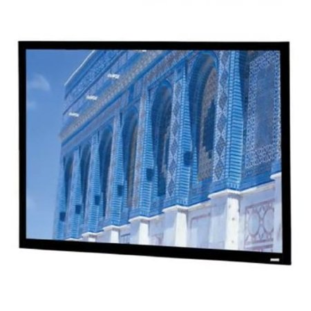 Da Lite 92 Diagonal HDTV Format Home Theater Fixed Frame Screen With High Contrast
