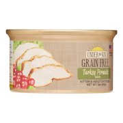 Under The Sun Grain-Free Turkey Wet Cat Food, 3 Oz 12 Ct