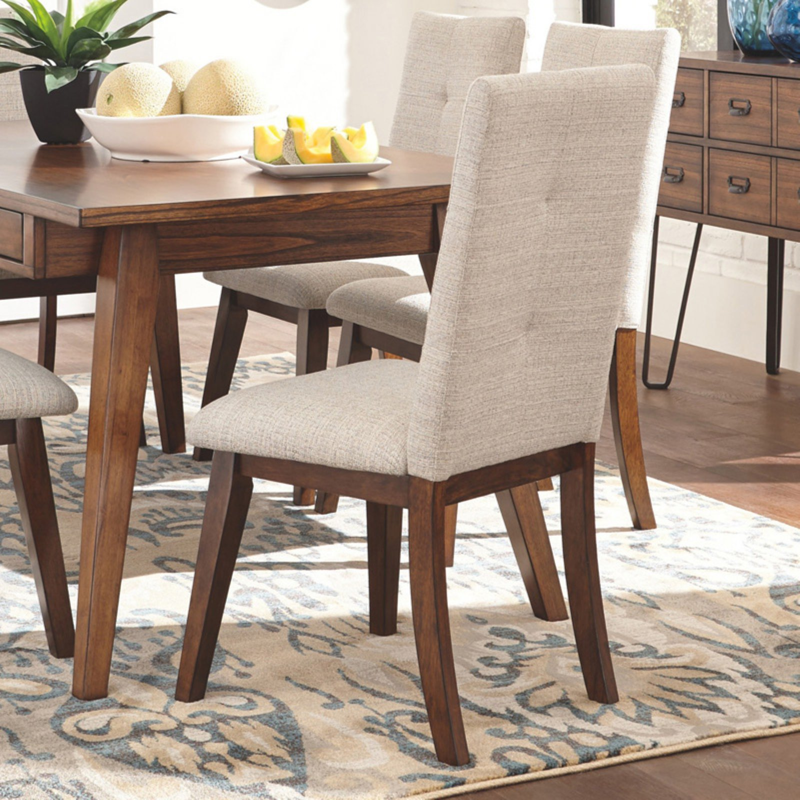 Signature Design By Ashley Centiar High Back Dining Upholstered Side Chair    Set Of 2