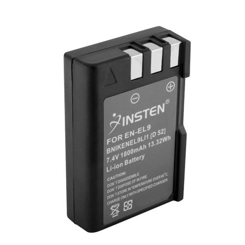 Insten Battery for Nikon EN-EL9 D40X D40 D60 D5000 D3000 S6400 EL9a MH-23 ENEL9