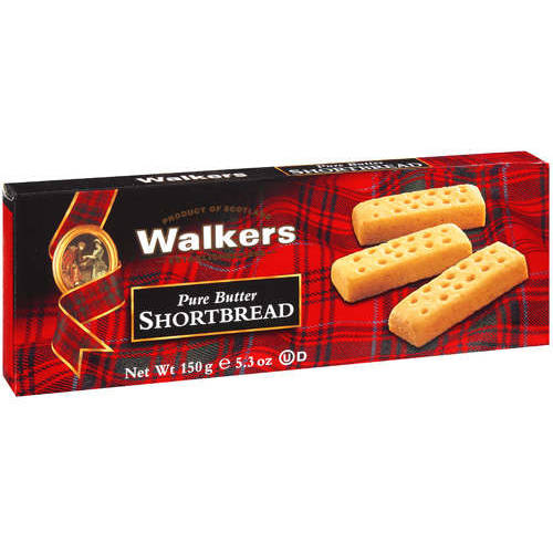 Walkers Pure Butter Shortbread Cookies, 5.3 oz