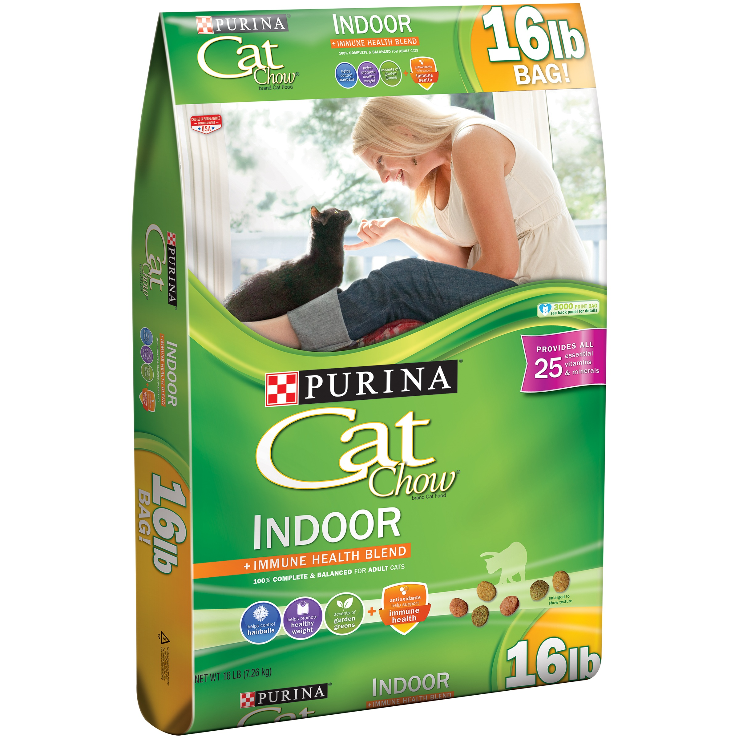 Purina Cat Chow Indoor Cat Food 16 lb. Bag