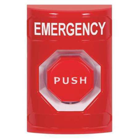 Emergency Push Button,Red,Polycarbonate SAFETY TECHNOLOGY INTERNATIONAL SS2005EM-EN