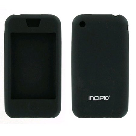 Incipio - dermaSHOT Full Protection Case for Apple iPhone 3GS & 3G - Black ()
