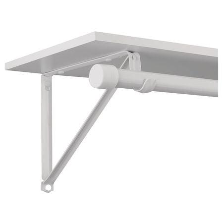 John Sterling RP-0045-WT Shelf and Rod (Scaffold Bracket)
