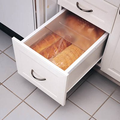 Rev-a-Shelf Bread Drawer Cover with Rails