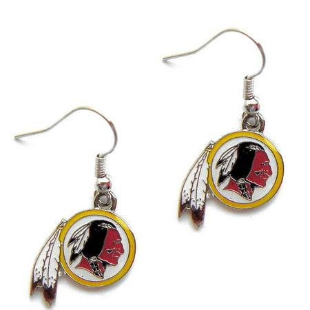 NFL Washington Redskins Dangle Logo Earring Set Charm Gift - image 1 of 1