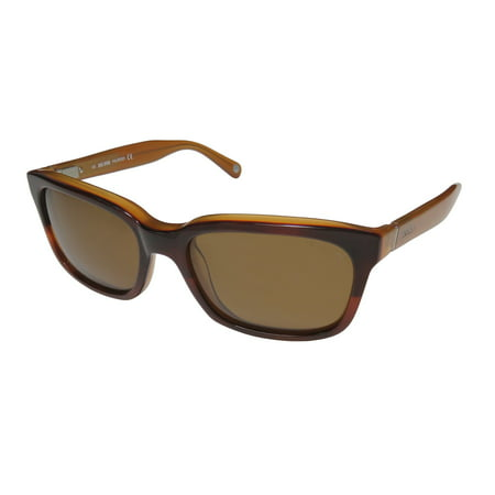 New Jack Spade Payne Mens/Womens Rectangular Full-Rim Polarized Tortoise Fade Gorgeous Brand Name Affordable Classic Frame Polarized Brown Lenses 54-18-140 Flexible Hinges (Affordable Sunglasses Brands)