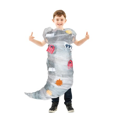 Most Terrible Halloween Costumes (Tornado Costume For Children And Teenagers One Size Fits)