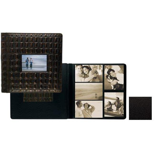 Raika TN 113 BLK 4inch x 6inch Frame Front Large Album - Black