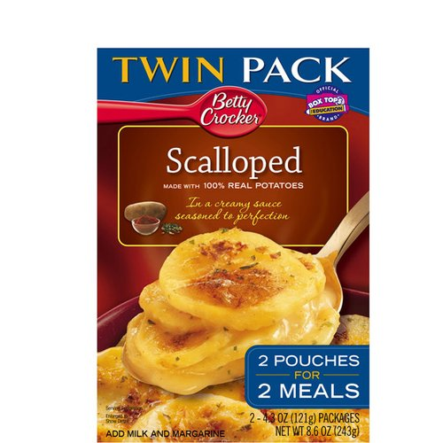 Betty Crocker Scalloped Potato Twin Pack, 2 count