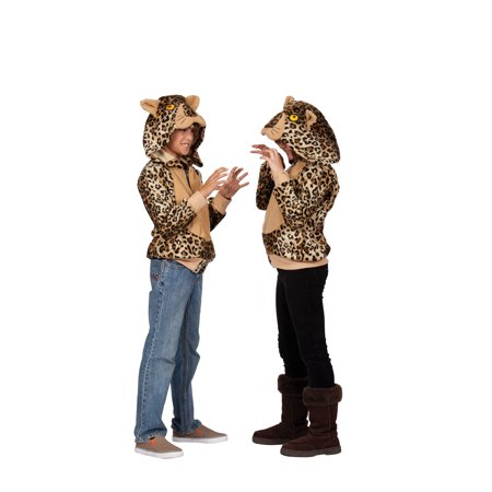 - Lux Cheetah Hoodie Child Costume