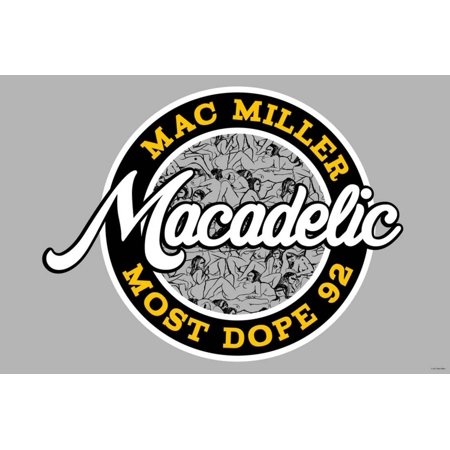 new style a3c06 ef0fb Mac Miller - Most Dope  92 Laminated Poster Wall Art