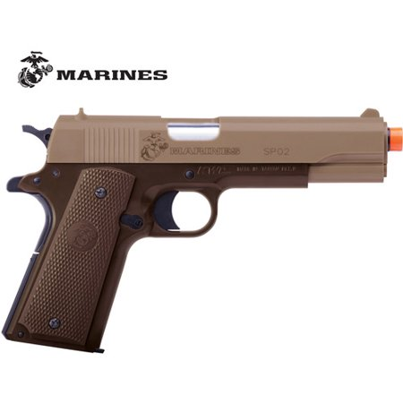 Marines SP02 Spring Pistol MCSP02 Airsoft (tan/ brown) single shot