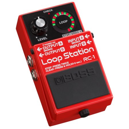 Boss RC-1 Electric Guitar Loop Station Stompbox Effects Pedal for Recording,