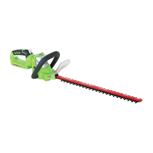 Greenworks 2200302 G-24 24V Cordless Lithium-Ion 22 in. Hedge Trimmer (Bare Tool) by GREENWORKS