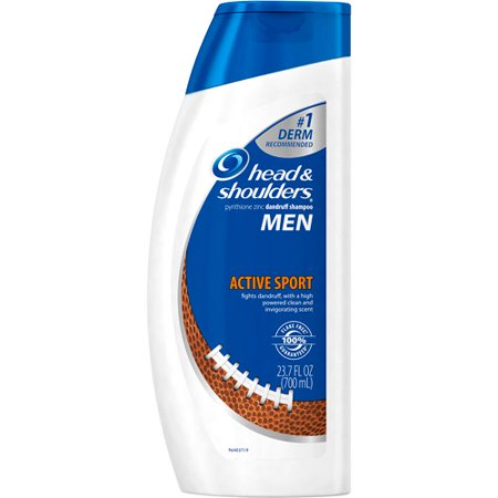 head & shoulders hommes actifs Sport Shampooing, 23,7 fl oz